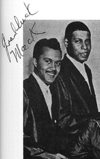 Photo of Andrew Magruder With Pookie Hudson-1960