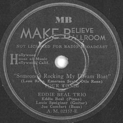 Make Believe Ballroom Label-Four Tones