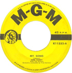 MGM Label (45)-My Song-Herb Kenny With The Rockets-1952