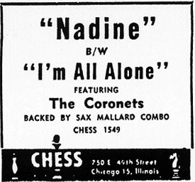 Ad For 'Nadine' From October 1953