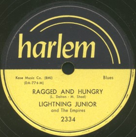 Harlem Label-Ragged And Hungry-Lightning Junior And Empires-1955