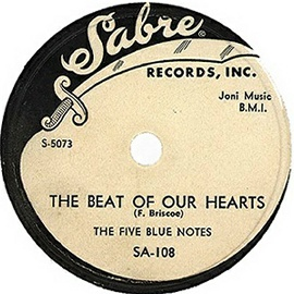 Sabre Label-The Beat Of Our Hearts-Five Blue Notes-1954