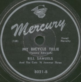 Mercury Label-My Bicycle Tillie-Cats 'N Jammer Three-1947