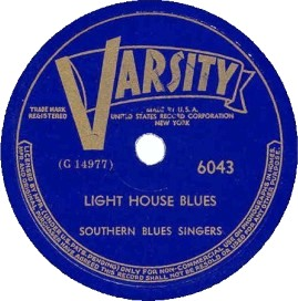 Varsity Label-Southern Blues Singers-1948