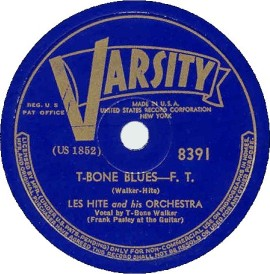 Varsity Label-Les Hite Orch/T-Bone Walker-1940