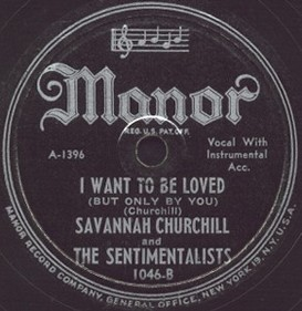Manor Label-I Want To Be Loved